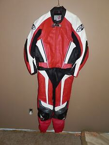 Joe Rocket 2 piece leathers.