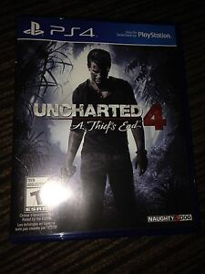 Uncharted 4 to trade for another game