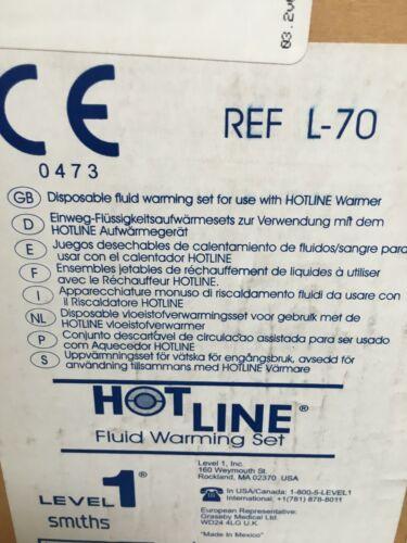 HOTLINE LEVEL 1 FLUID WARMING SETS