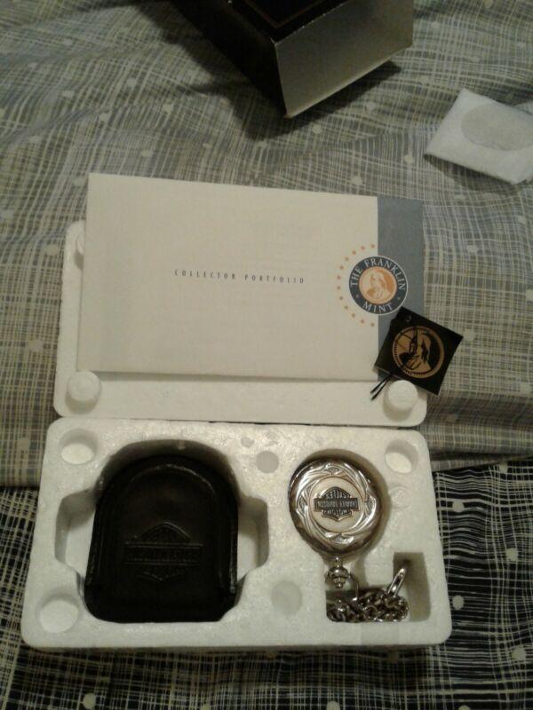 Harley Davidson Pocket Watch With Box