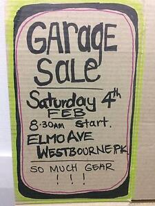MASSIVE GARAGE SALE, Saturday 4 Feb. HURRY HURRY HURRY Westbourne Park Mitcham Area Preview