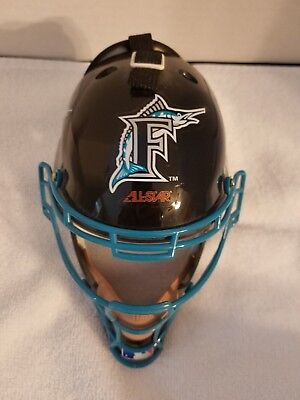 Florida Marlins Mini Replica Catcher's Head Gear - Florida Marlins Gear