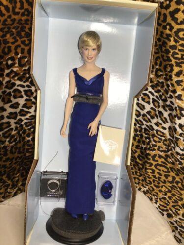 Vintage Princess Diana 🌹Porcelain Portrait Doll The Franklin Mint New In Box 🌹
