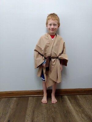 Star wars kids jedi cloak, robe, Obi-Wan, Halloween, Costume, Dress up, washable - Star Wars Kids Dress Up