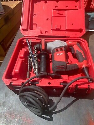 Milwaukee Rotary Hammer Drill With 8 Sds Bits
