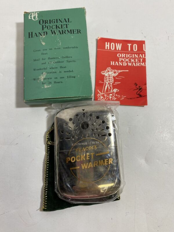 Vintage Hand Pocket Warmer Abercrombie & Fitch Peacock - Japan