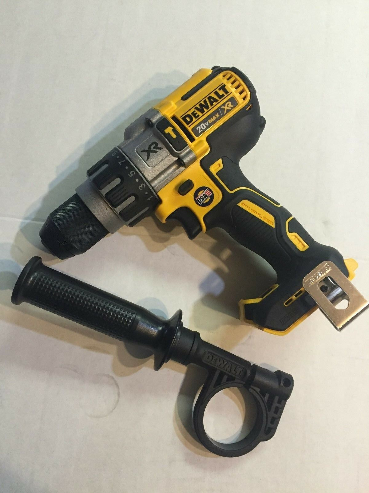 "USA made DeWALT DCD996B 20V Li-Ion XR 1/2"" Cordless Hammer D"