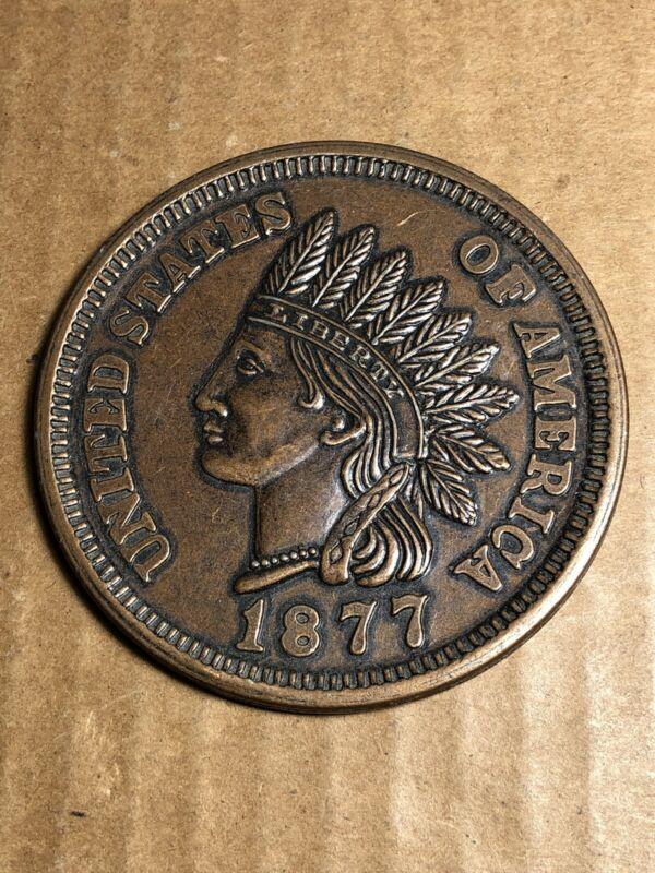 """Novelty Large Coin 