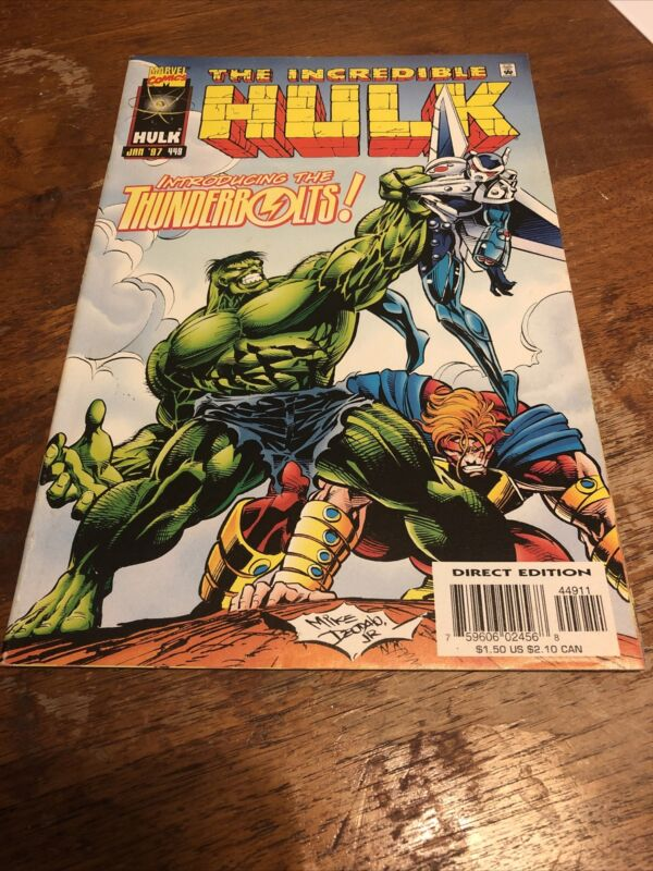 Incredible Hulk 449 1st First App appearance Thunderbolts Falcon Winter Soldier