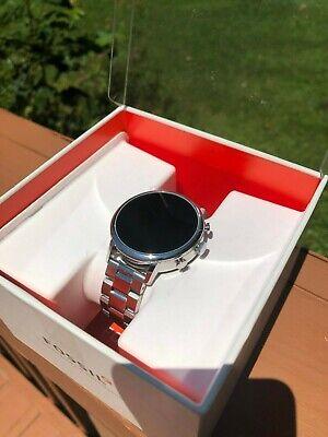 Fossil Q Gen 4 Venture HR Silver Tone Stainless Steel Smart Watch (FTW6017)