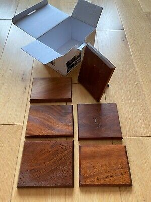 Great Box of wooden plinths - display stands -