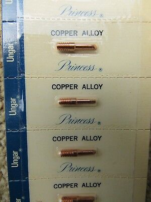 2 Ungar Princess Copper Alloy Thread In Slanted Soldier Tips New In Pack Sealed