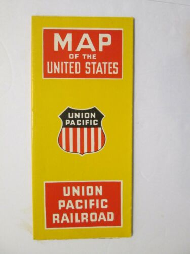 Union Pacific Railroad Map of the United States 1947