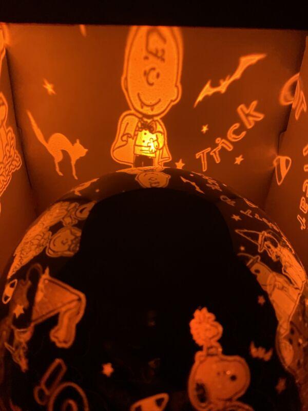 Peanut Snoopy  & Friends LED Shadow Light Halloween Like Disneys Haunted Mansion