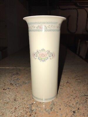 """Lenox CHARLESTON Large Flower Vase 8 1/2"""" Tall USA"""