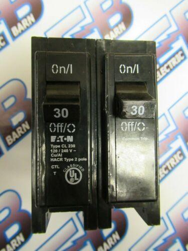 Eaton CL230, 30 Amp, 240 Volt, 2 Pole, Classified Circuit Breaker- NEW-S