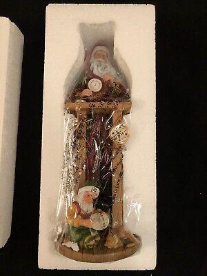 Lenox 2014 Countdown To Christmas Clock Shop Santa Pencil Figurine ()