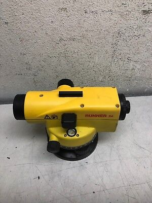 Leica Runner 24 Automatic Level Geosystems Constructions
