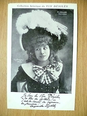Postcards of Edwardian Theatre & Opera Stars- M. UGALDE VARIETES, by Vin Desiles