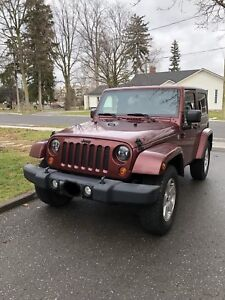 2007 3.8L Jeep Wrangler 2-Door Sahara
