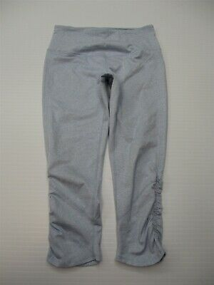 ZELLA Capri Pants Women's Size M Active Running Yoga High Waist Light blue