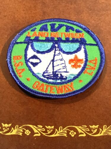 2 Vintage 1960's Unused LAND BETWEEN LAKE KENTUCKY BSA SCOUT PATCH Scouting TVA!