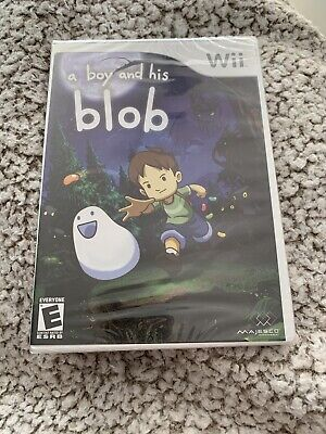 Nintendo Wii Game A Boy And His Blob Brand New Factory Sealed