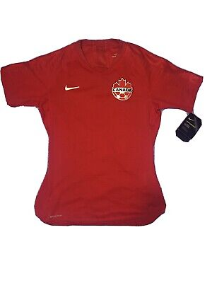 Nike Canada Soccer Vaporknit Jersey 2019 World Cup Women's XS MSRP $165.00 NEW image