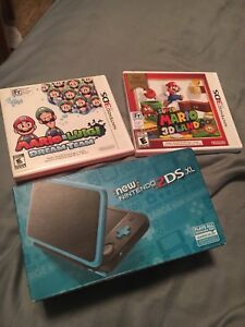 New Nintendo 2DS XL unopened, mint condition, 2 free games