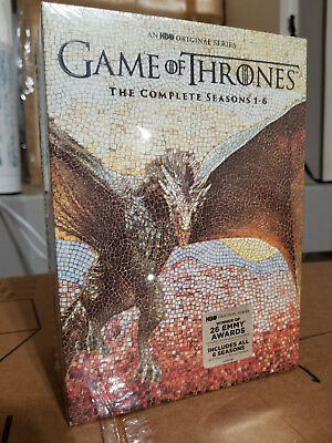 Game Of Thrones Complete Seasons 1 6 1 2 3 4 5 6 Dvd Bundle Set