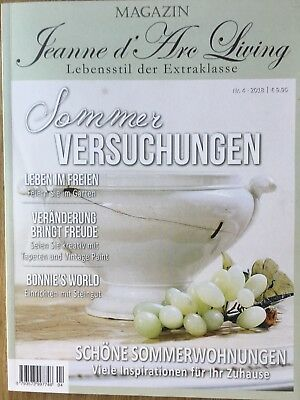Versandkostenfrei! Magazin Jeanne d´Arc Living - 4/2018 - Sommer-Versuchungen