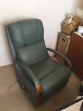 Leather teal green Lazy Boy Recliner excellent condition Tuncurry Great Lakes Area Preview