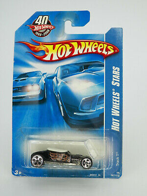 Hot Wheels Stars Track T Black 2008 New Free Shipping