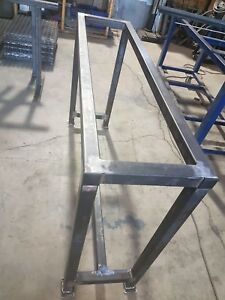 Heavy duty metal table frame for sale