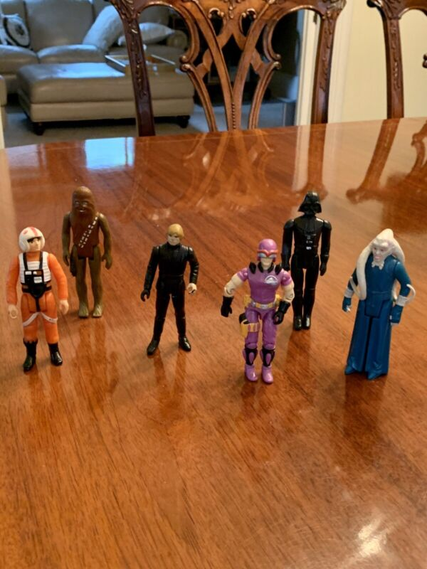 Choose Your Own Vintage STAR WARS Action Figures Kenner Original 1977-83