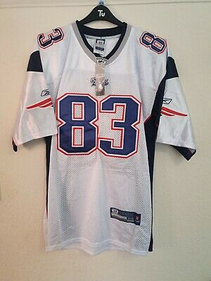 New England Patriots Number 83 Welker Jersey Size 54