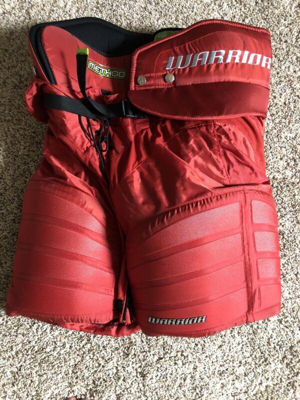 Warrior Method Red Hockey Pants Senior Small