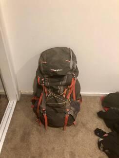 Men's Bergahus BIOFLEX® 70 + 15 RUCKSACK Backpack