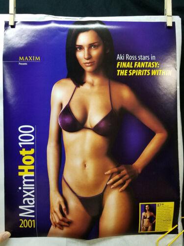 "Final Fantasy: Spirits Within 2001 Maxim Hot 100 Mini Poster (16"" x 20"")"