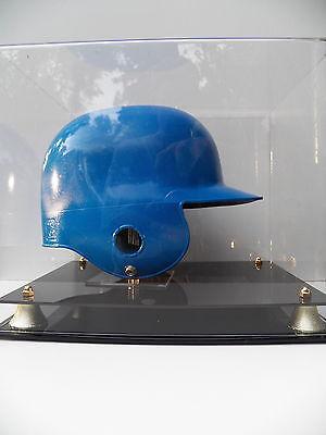 Baseball batting helmet case MLB 85% UV acrylic memorabila full size display
