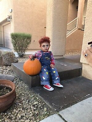 Chucky Child Costume (Chucky Costume Toddler Good Guys Horror 12m Childs Play)
