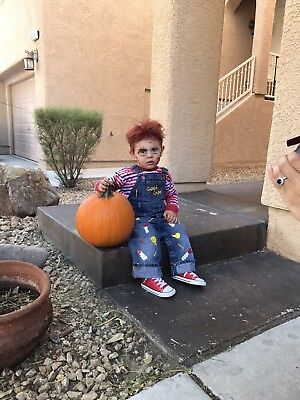Chucky Costume Toddler Good Guys Horror 12m Childs Play shortall