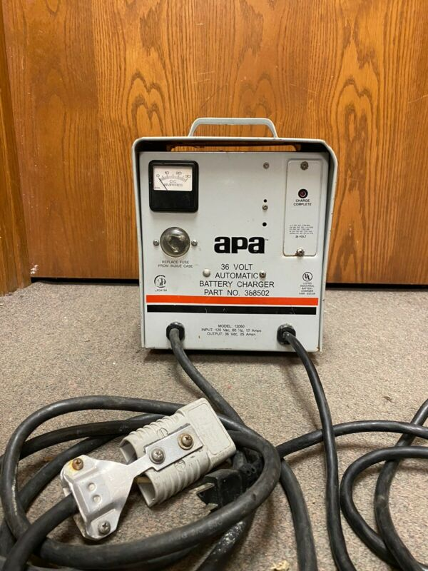 apa (Advance) 36Volt/25Amp Automatic Battery Charger #388502