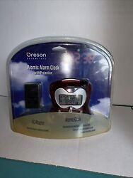 Oregon Scientific Atomic Alarm Clock With Projection