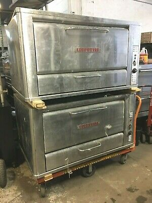 Oven Pizza Gas Blodgett 2 Decks Model 966