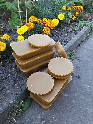 Pure 100%  ORGANIC BEESWAX for candle making, cosmetics etc NATURALLY FRAGRANT