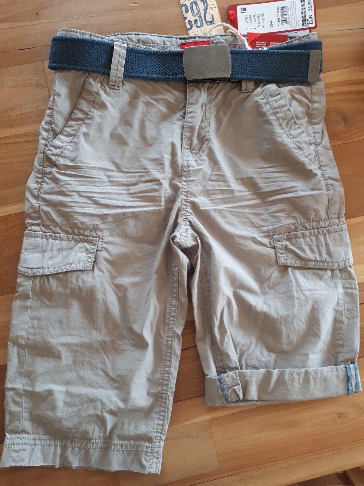 Kurze Jeans s.Oliver 140 Reg. Benno Jungen Neu verstellbarer Bund Short