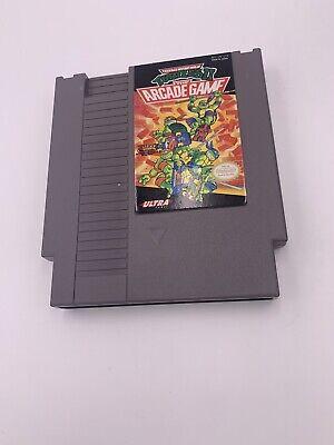Teenage Mutant Ninja Turtles II 2: The Arcade NES Game Tested & Working