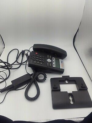 Ring Central Polycom Soundpoint Ip 321 335 Voip Telephone Business Phone Lot Of3