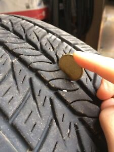 General tires x 2 - 235/60 R17 - on Toyota Sienna - driven 100k+